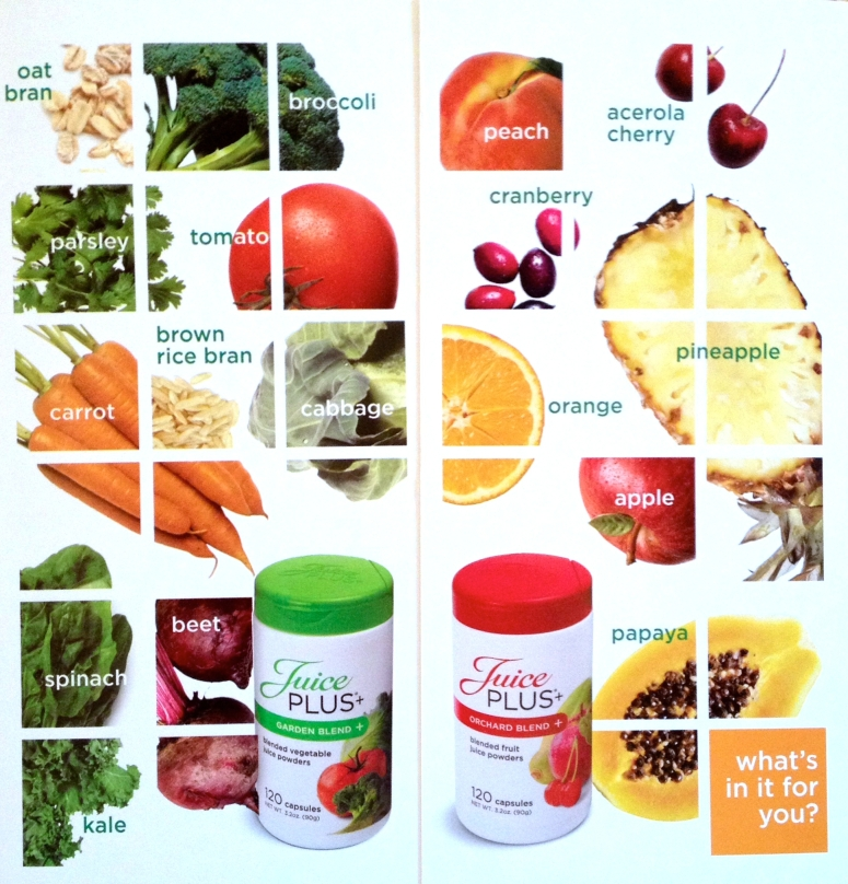 JuicePlusfruits&veggies